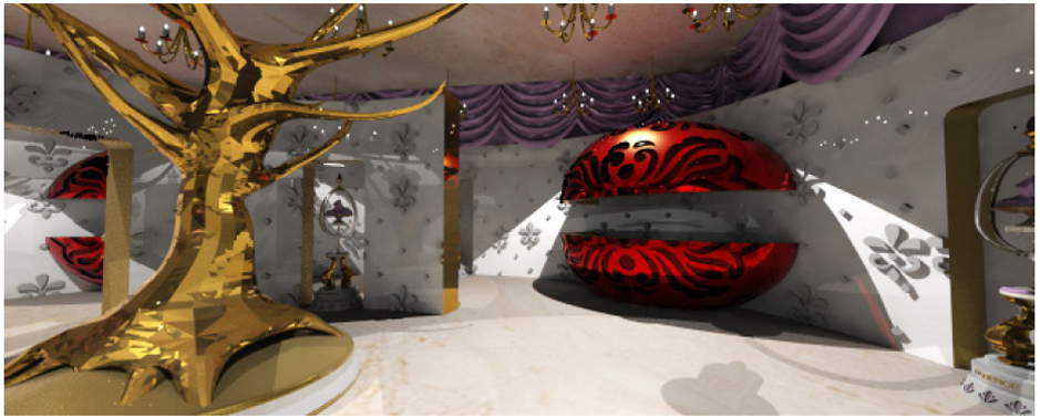 Faberge Retail Space
