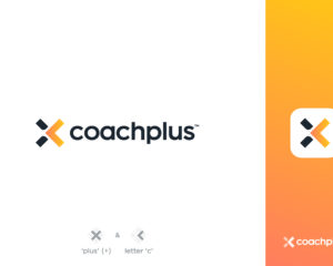 A logo for a sport start-up