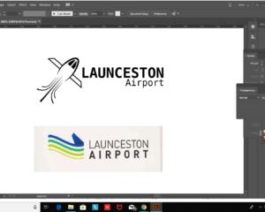 Airport logo redesign
