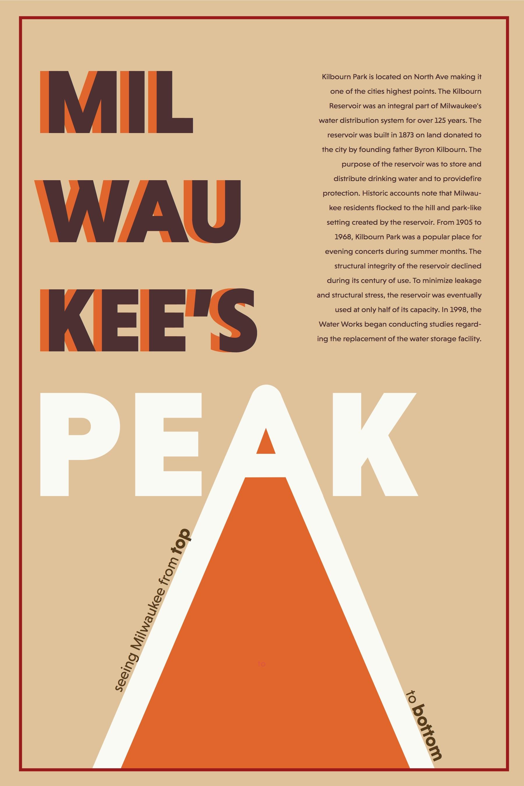 Milwaukee Promotional Park Poster