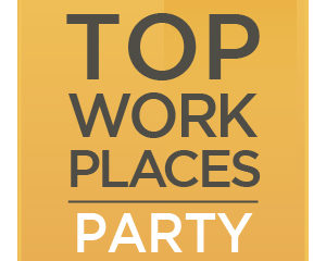 Top Work Places Party Email Graphic