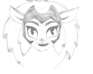 Catra – She Ra and the Princesses of Power Sketch