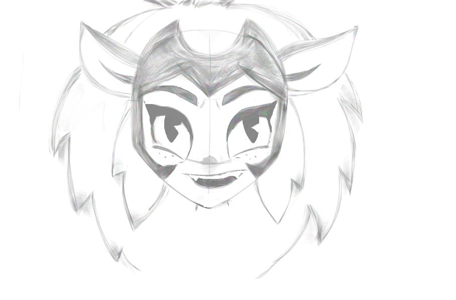 Catra – She Ra and the Princesses of Power Sketch