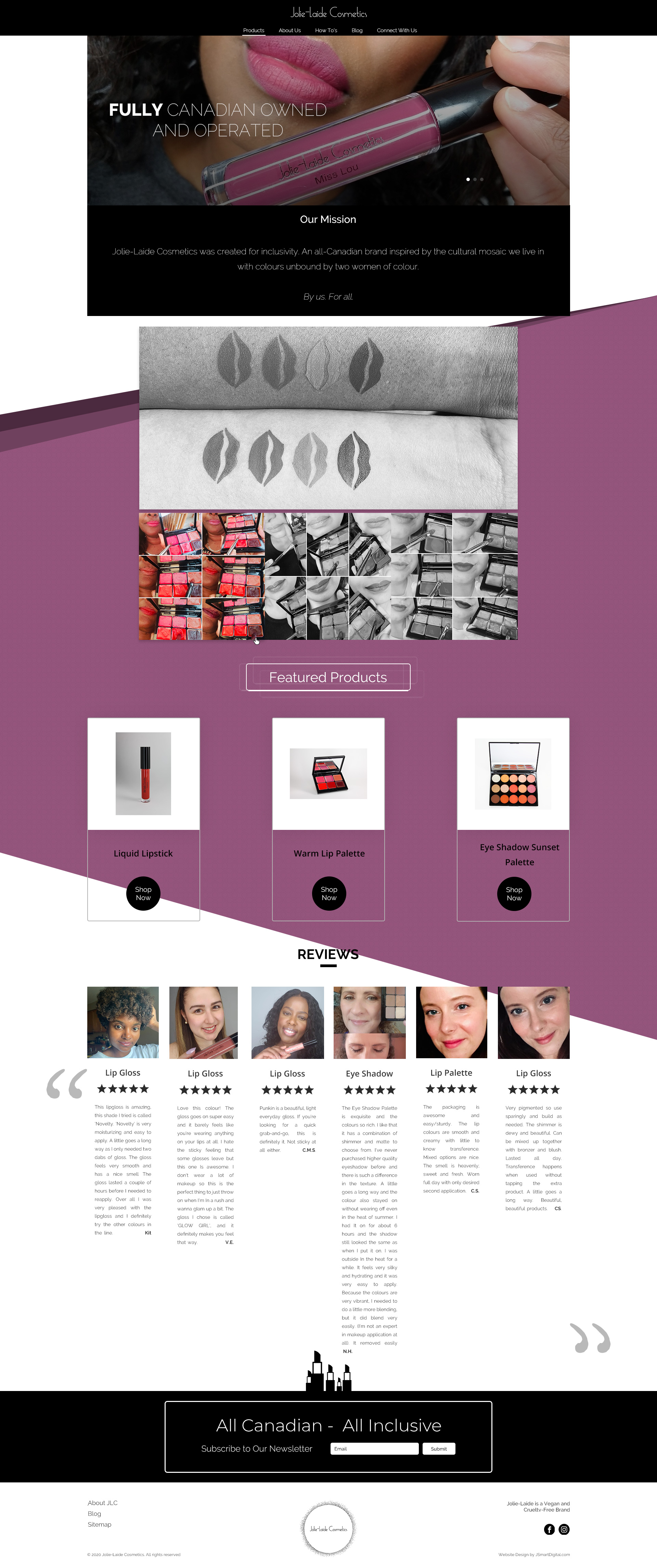 Cosmetics Website