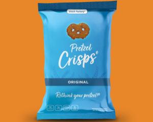 Redesign of Snack Factory's Pretzel Crisp Bag