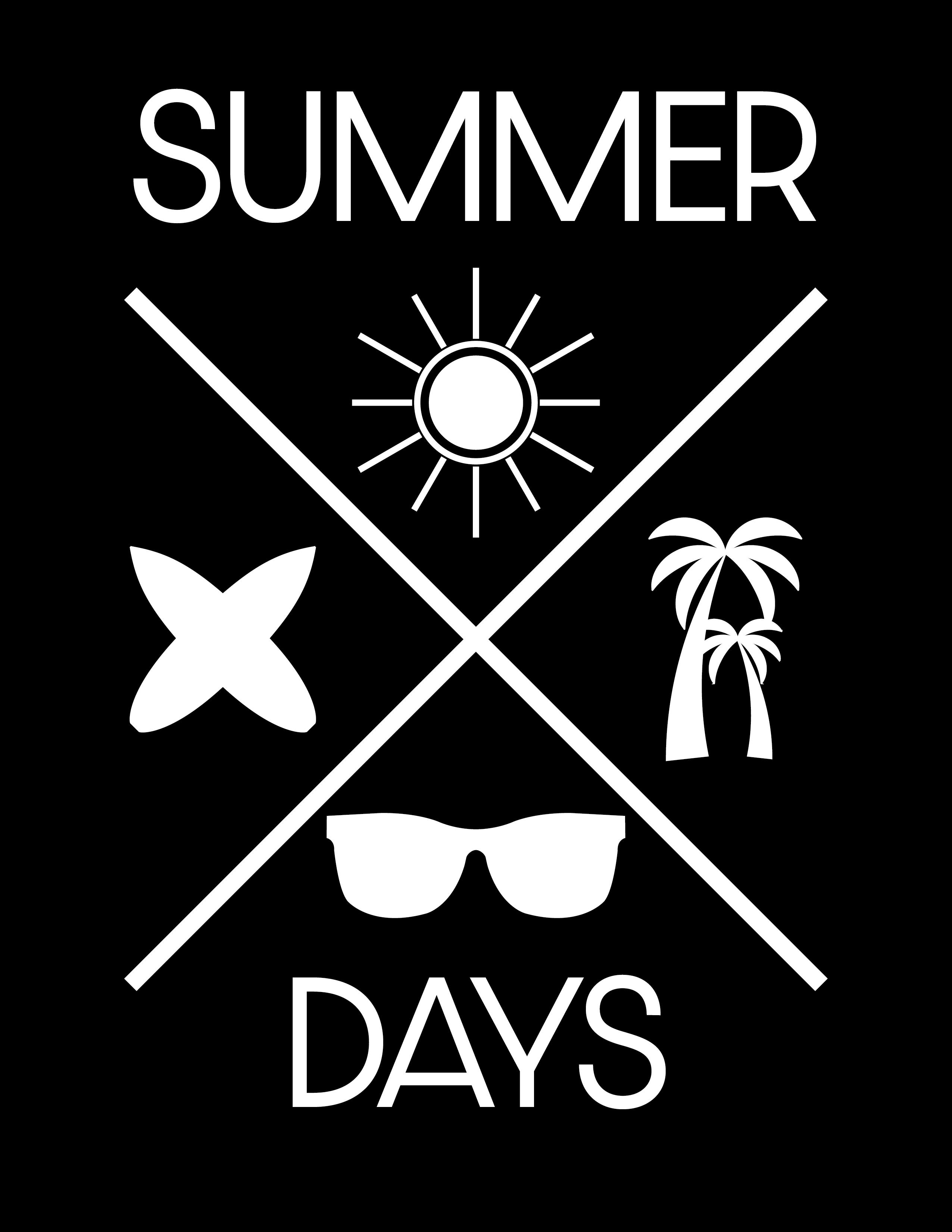Summer Days Cross Design